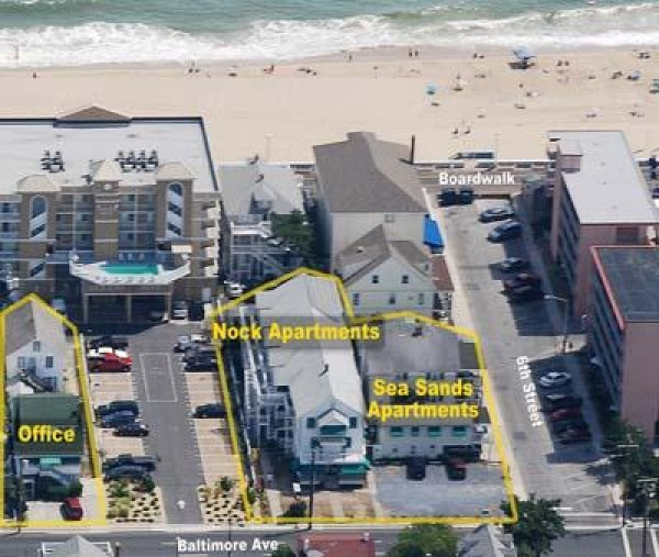Beach Houses For Rent In Ocean City: Nock Apartments In Ocean City, Maryland